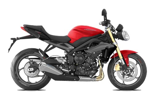 2015 Triumph of Westchester Speed Triple